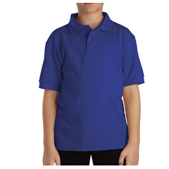DKIKS4552-RB-XL - DickiesKids Short Sleeve Pique Polo Shirts