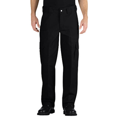 DKILP702BK-42-34 - DickiesMens Tactical Relaxed Fit Straight Leg Canvas Pants
