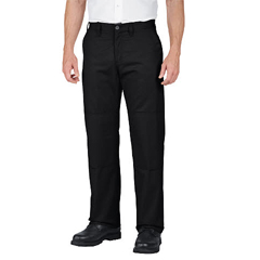 DKILP856-BK-42-32 - DickiesMens Industrial Relaxed-Fit Double-Knee Pant