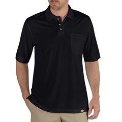 DKILS404-BK-S - DickiesMens Industrial Short Sleeve Polo Shirts
