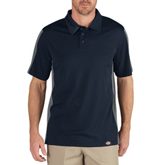 DKILS424-DNSM-2X - DickiesMens Industrial Short Sleeve Color Block Polo Shirts
