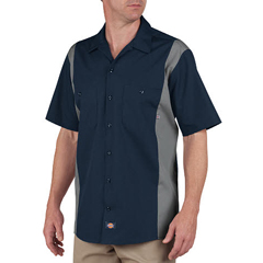 DKILS524-DNSM-MT - DickiesMens Short Sleeve Two-Tone Industrial Shirt