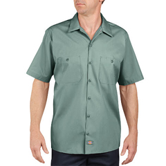 DKILS535-UP-L - DickiesMens Short Sleeve Industrial Work Shirt
