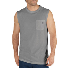 DKISS501-MHG-3X - DickiesMens Sleeveless Tee Shirts