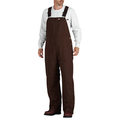 DKITB245-TB-M-RG - DickiesMens Sanded Duck Insulated Bib Overalls