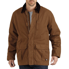 DKITC280-RBD-3X - DickiesMens Ribbed Sanded Duck Coats