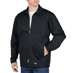 DKITJ100-BK-2X-RG - DickiesMens Lined Yoke Panel Jacket