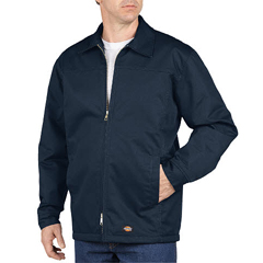 DKITJ100-DN-L-TL - DickiesMens Lined Yoke Panel Jacket