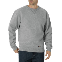 DKITW386-HG-2X-RG - DickiesMens Midweight Crew Neck Jackets