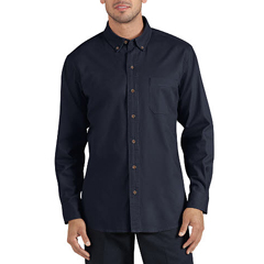 DKIWL624-RDN-L - DickiesMens Long Sleeve Cotton Twill Work Shirts