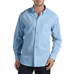 DKIWL625-RLB-L - DickiesMens Long Sleeve Oxford Work Shirts