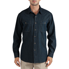 DKIWL628-THK-L - DickiesMens Long Sleeve Denim Shirts