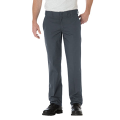 DKIWP805-CH-36-34 - DickiesMens Slim-Fit Straight-Leg Pants