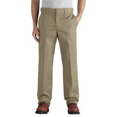 DKIWP838-DS-34-30 - DickiesMens Flex Slim-Fit Straight-Leg Twill Work Pants