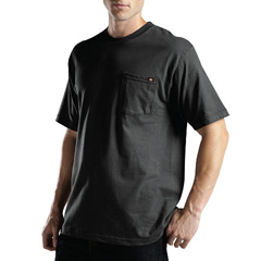 DKIWS417-BK-3T - DickiesMens Short Sleeve Performance Pocket Tee Shirts