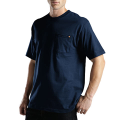 DKIWS417-DN-XT - DickiesMens Short Sleeve Performance Pocket Tee Shirts