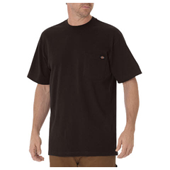 DKIWS450-CB-L - DickiesMens Short Sleeve Heavyweight Crew Neck Tee Shirts