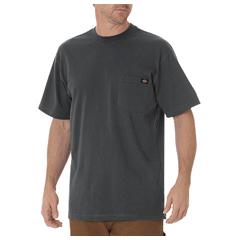 DKIWS450-CH-LT - DickiesMens Short Sleeve Heavyweight Crew Neck Tee Shirts