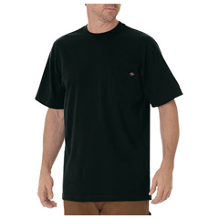 DKIWS450-GH-L - DickiesMens Short Sleeve Heavyweight Crew Neck Tee Shirts