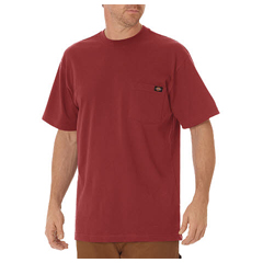 DKIWS450-KR-M - DickiesMens Short Sleeve Heavyweight Crew Neck Tee Shirts
