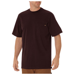 DKIWS450-VA-L - DickiesMens Short Sleeve Heavyweight Crew Neck Tee Shirts