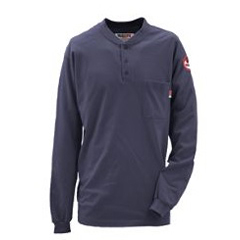 DKI56950NA9-MD-0R - Walls FRMens Flame Resistant Long Sleeve Henley