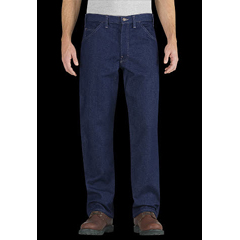 DKIRU900RNB-30-30 - Dickies FRMens Flame Resistant Relaxed-Fit Straight Leg Carpenter Pant