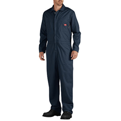 DKIRV700NV-M-RG - Dickies FRMens Flame Resistant Long Sleeve Lightweight Coverall
