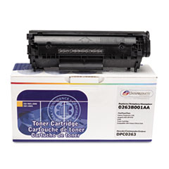 DPSDPC0263 - Dataproducts Remanufactured 0263B001AA (104) Toner, 2000 Page-Yield, Black