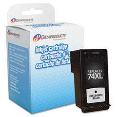 DPSDPC74XL - Dataproducts Remanufactured CB336WN (74XL) High-Yield Ink, 750 Page-Yield, Black