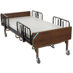 15300BV-PKG - Drive MedicalFull Electric Bariatric Hospital Bed