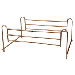 16500BV - Drive MedicalHome Bed Style Adjustable Length Bed Rails