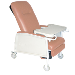 D574EW-R - Drive Medical3 Position Heavy Duty Bariatric Geri Chair Recliner