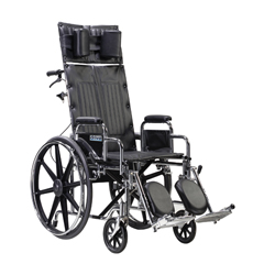 STD14RBDDA - Drive MedicalSentra Reclining Wheelchair w/Detachable Desk Arms