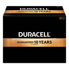 DURMN1300 - Duracell® CopperTop® Alkaline Batteries with Duralock Power Preserve™ Technology