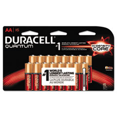DURQU1500B16Z - Duracell® Quantum Alkaline Batteries with Power Preserve Technology™