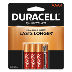 DURQU2400B4Z - Duracell® Quantum Alkaline Batteries with Power Preserve Technology™