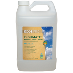 EFPPL9721-04 - Earth Friendly ProductsECOS™ PRO Dishmate Manual Dishwashing Liquid Free & Clear