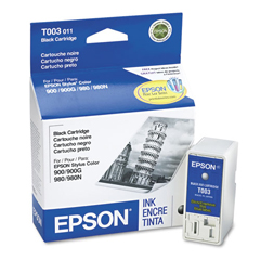 EPST003011 - Epson T003011 Ink, 840 Page-Yield, Black