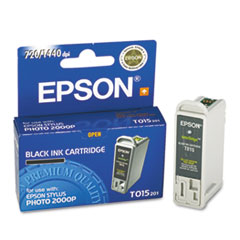 EPST015201 - Epson T015201 Ink, 361 Page-Yield, Black