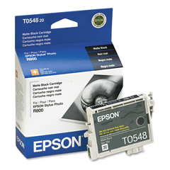 EPST054820 - Epson T054820 Ink, 400 Page-Yield, Matte Black