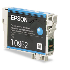EPST096220 - Epson T096220 (96) Ink, 430 Page-Yield, Cyan