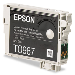 EPST096720 - Epson T096720 (96) Ink, 450 Page-Yield, Light Black