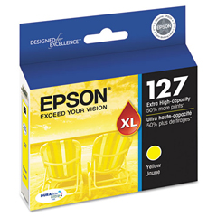 EPST127420 - Epson T127420 (127) Extra High-Yield Ink, Yellow