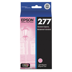 EPST277620 - Epson T277620 Claria Ink, 360 Page-Yield, Light Magenta