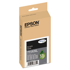 EPST711XXL120 - Epson T711XXL120 High-Yield Ink, 3400 Page-Yield, Black