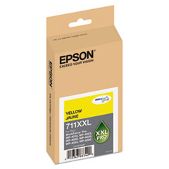 EPST711XXL420 - Epson T711XXL420 High-Yield Ink, 3400 Page-Yield, Yellow