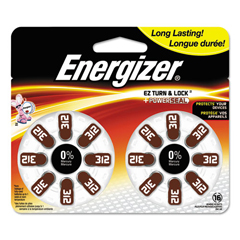 EVEAZ312DP16 - Energizer® Mercury-Free Watch/Electronic/Specialty Battery