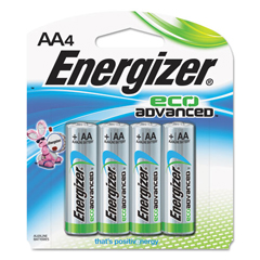 EVEXR91BP4 - Energizer® Eco Advanced™ Batteries