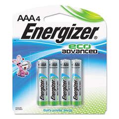 EVEXR92BP4 - Energizer® Eco Advanced™ Batteries